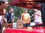 Stretnutie Mustangov a US cars Nitranske Rudno