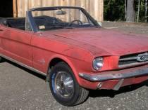 kabrio 1965 Rangoon Red  a...